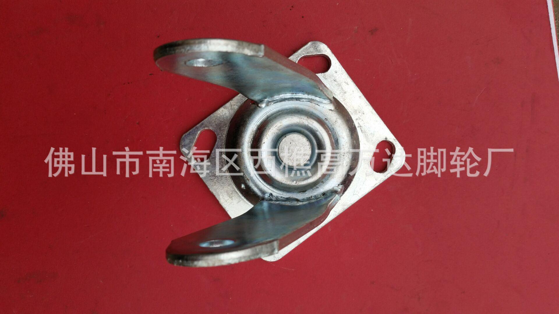 厂家直销四厘6寸活动脚轮架子 铸铁重型设备工业脚轮示例图3