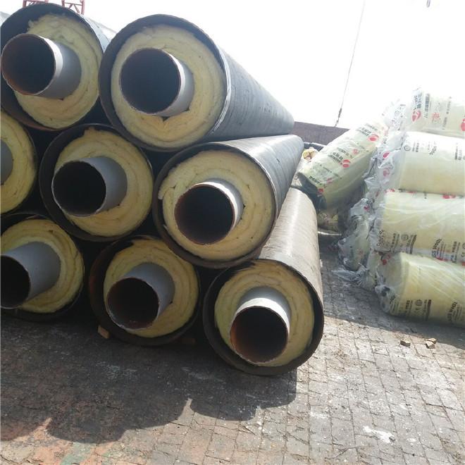 工厂定制 防腐钢管 钢套钢防腐钢管 加工 环氧煤沥青防腐钢管示例图15