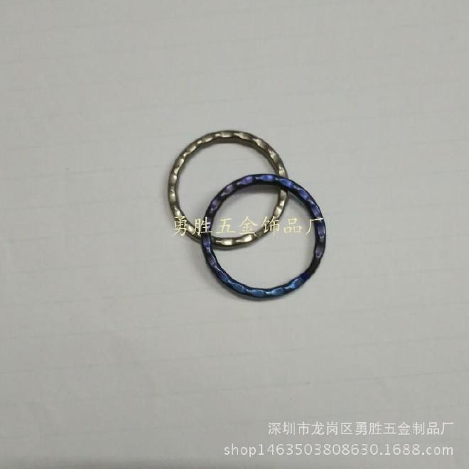 精美钛合金钥匙圈  30mm压花圈 光圈 平面圈 钥匙环 欢迎批发订购