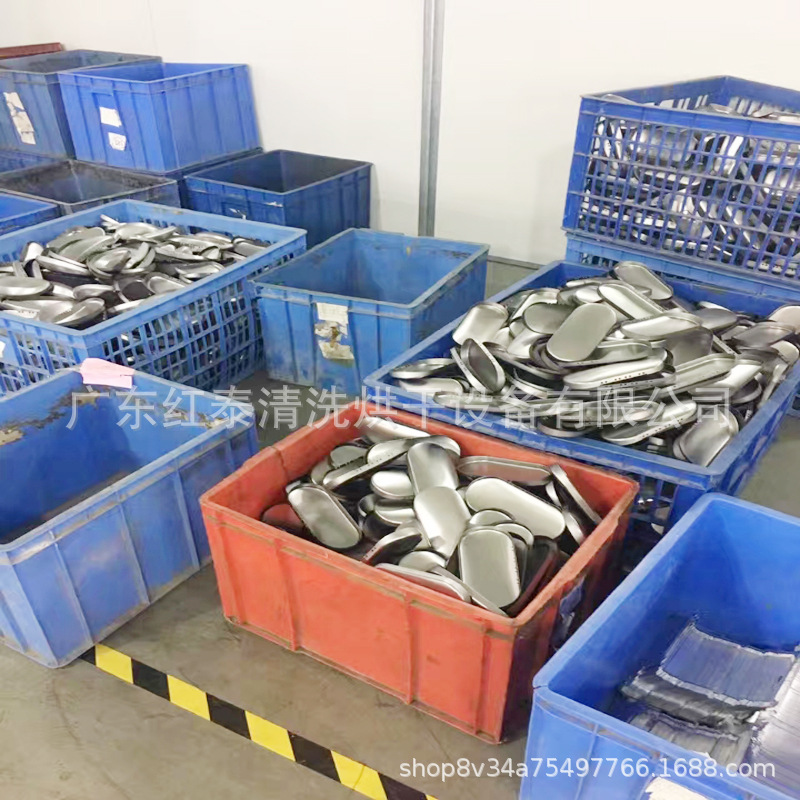铝合金压铸件批量除油除屑通过式超声波喷淋清洗烘干线设备厂家示例图6
