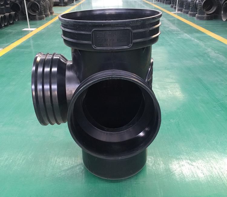 450*400流槽起始井 厂家直销|污水塑料检查井 批发示例图11