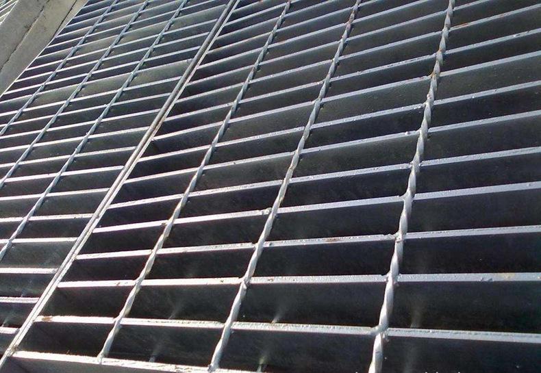 廠家供應熱鍍鋅格柵板 電廠鋼格柵板 鍍鋅水溝蓋板踏步板 可定制示例圖9