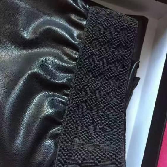 MK皮褲加厚亮光色女式打底褲示例圖5