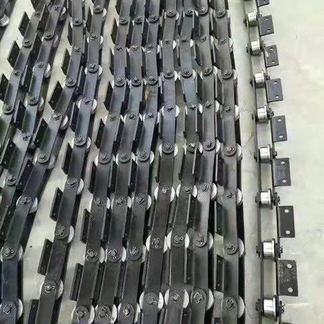 不锈钢链条 食品输送传动用非标定制304链条 金属输送链条可定制