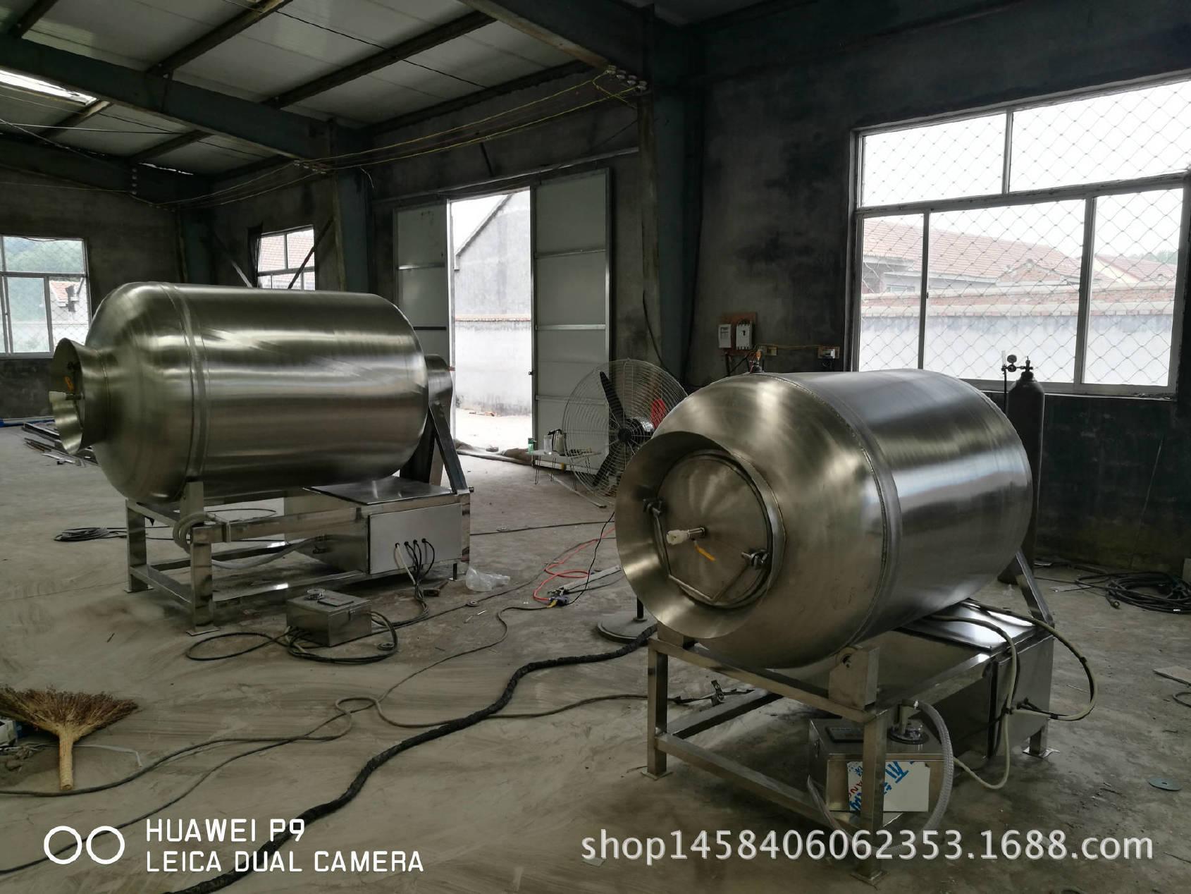 廠家五花肉鹵牛肉滾揉機 攪拌入味按摩真空滾揉機 不銹鋼設備結實圖片