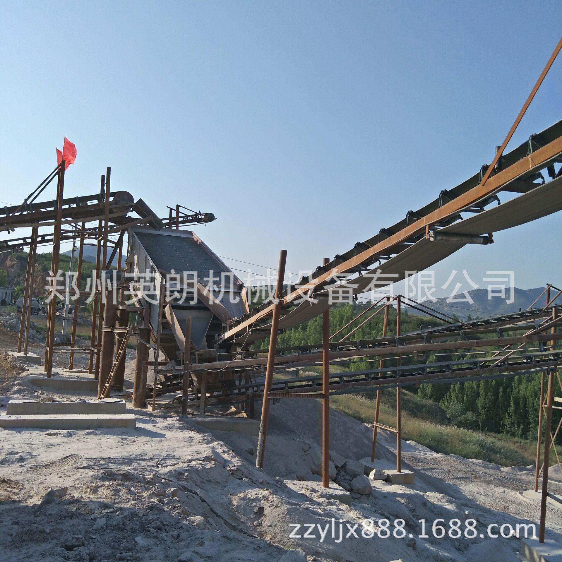 供应矿山石料开采破碎生产线 建筑青石子破碎线 鹅卵石制沙生产线示例图8