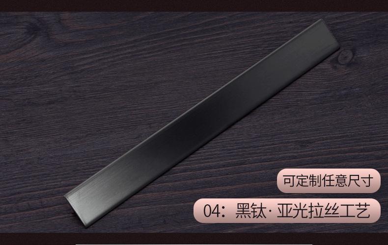 6毫米不锈钢实心条 镜面钛金装饰T条瓷砖收口填缝玫瑰金条批发示例图7