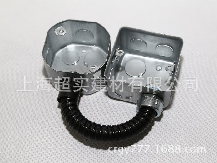 16包塑金属软管 蛇皮穿线管 波纹管厂家批发示例图7
