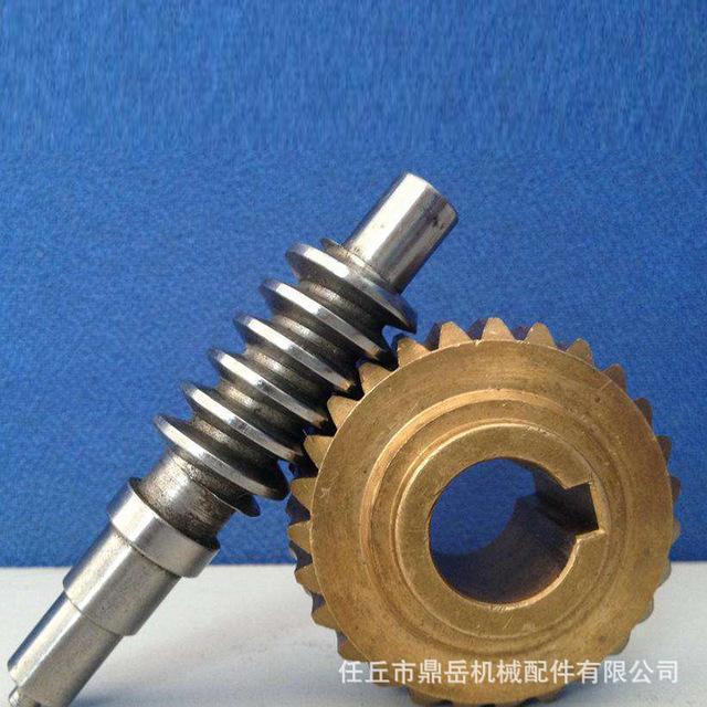 加工定做渦輪 蝸桿 銅蝸輪蝸桿 精密小模數非標傳動件渦輪