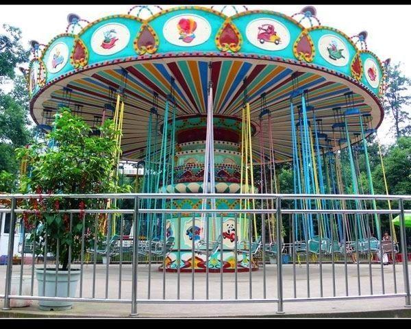 供应游乐场24座豪华飞椅 公园户外大型游乐项目飓风飞椅大洋直销示例图10