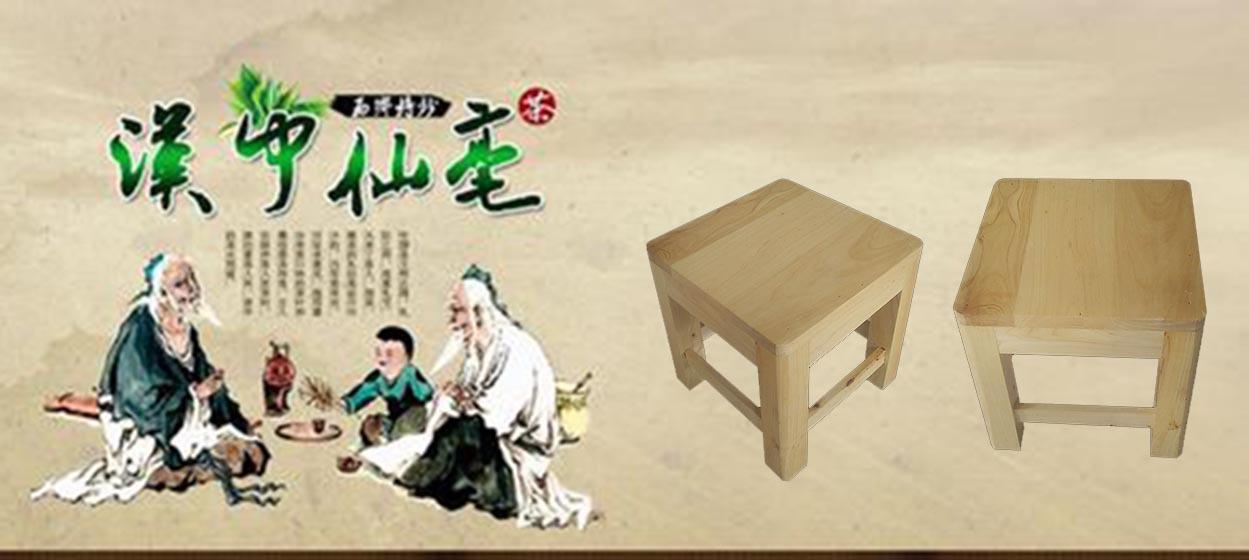 鑫繁木业直销柏木家用小方凳适用凳子实木幼儿园儿童小板凳木凳示例图5
