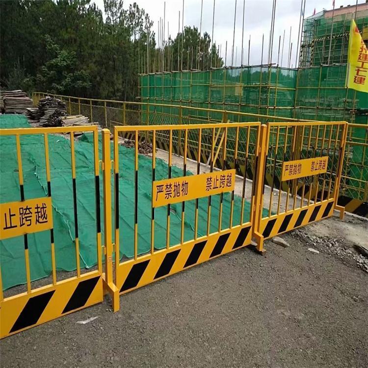 建筑工地仓库基坑护栏 基坑井口护栏 基坑围栏护栏 云旭 厂家
