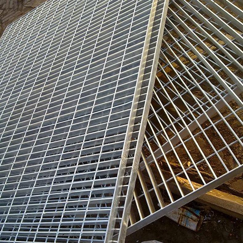 廠家供應熱鍍鋅格柵板 電廠鋼格柵板 鍍鋅水溝蓋板踏步板 可定制示例圖10