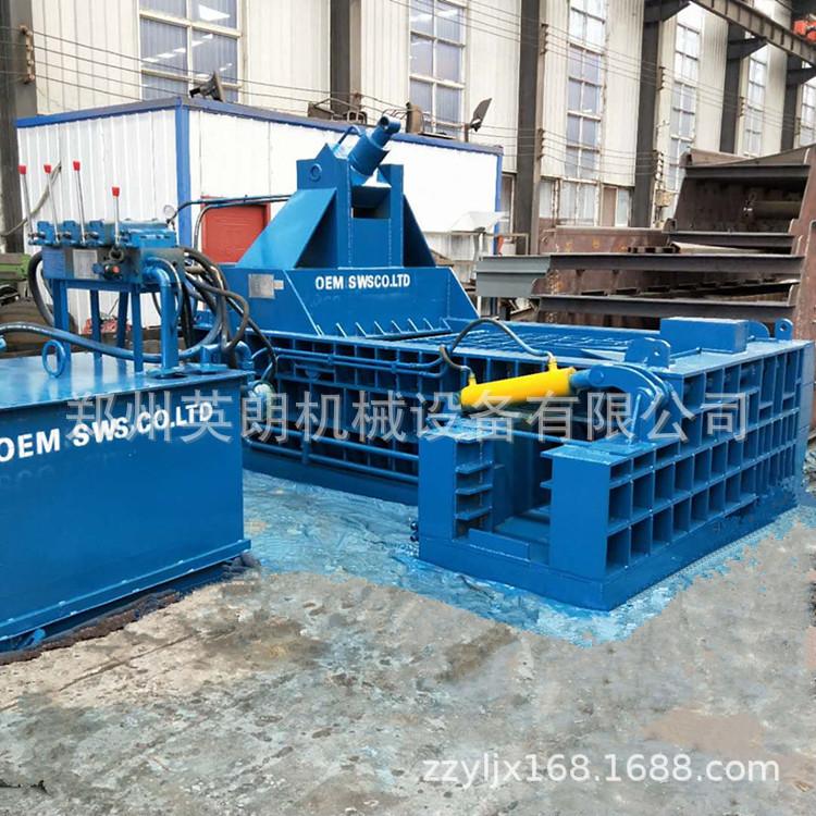 厂家直供废金属液压打包机 废铁铝压块机 卧式金属成型机示例图10