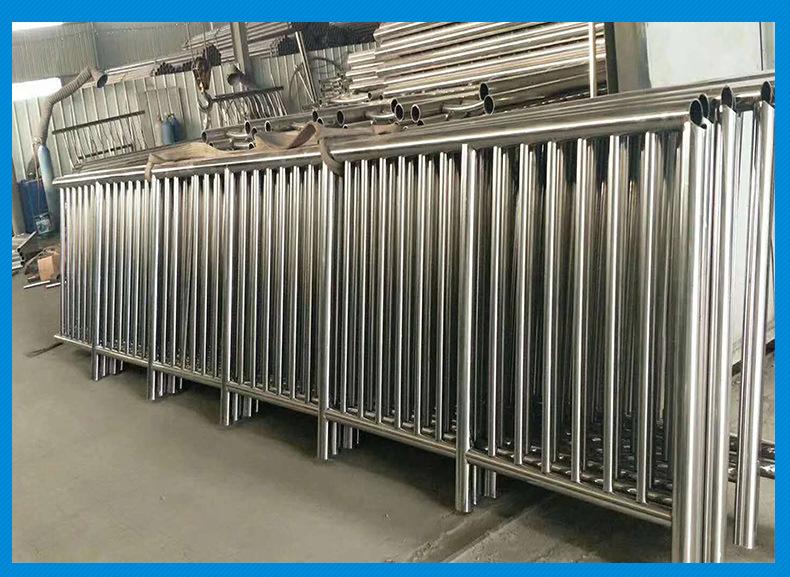 不锈钢复合管护栏围栏高速护栏市政防护栏景观护栏示例图2