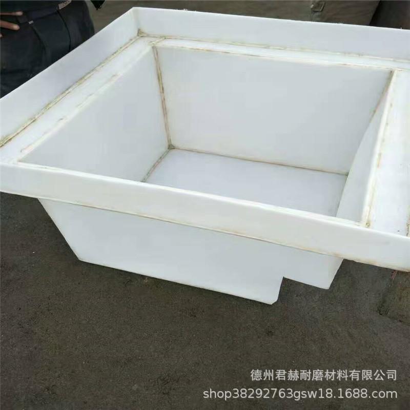加工pp板材 塑料板定做水箱 焊接 冷却循环水箱 酸洗槽批发示例图4