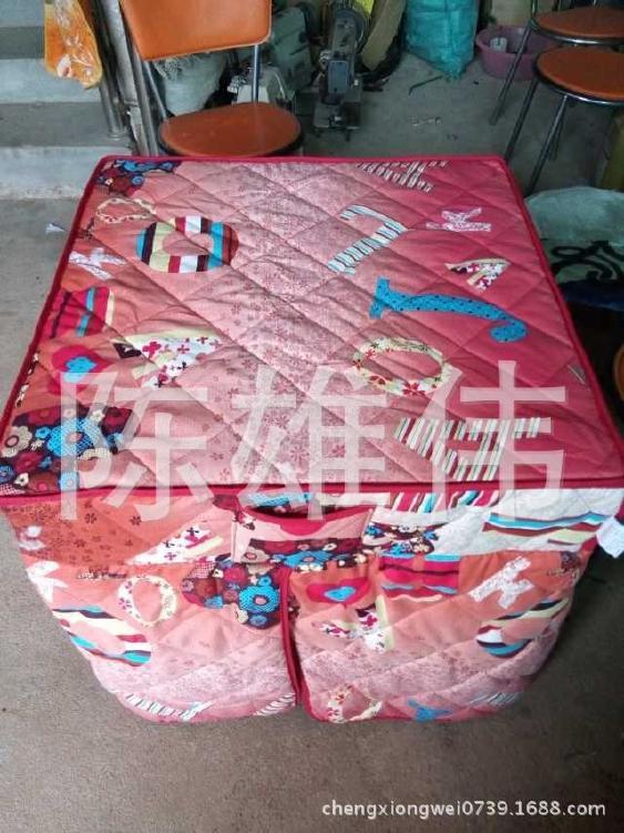 批发供应可折叠棉桌罩 加棉桌布 棉桌罩销售 欢迎订购示例图3