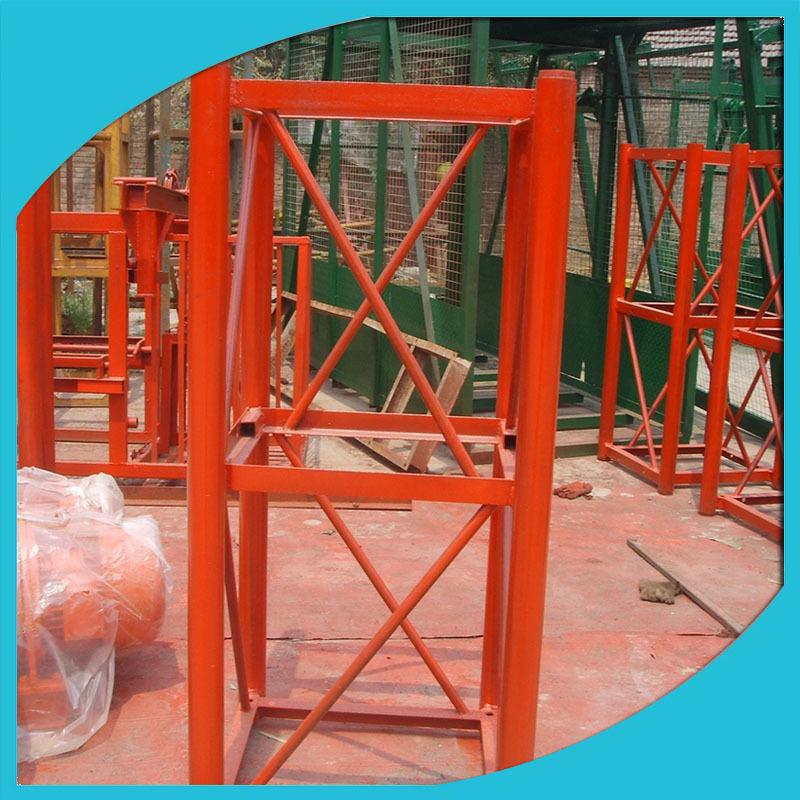 标准节定制 施工升降机批发建筑物料提升机ss8080-80标准节厂家示例图6