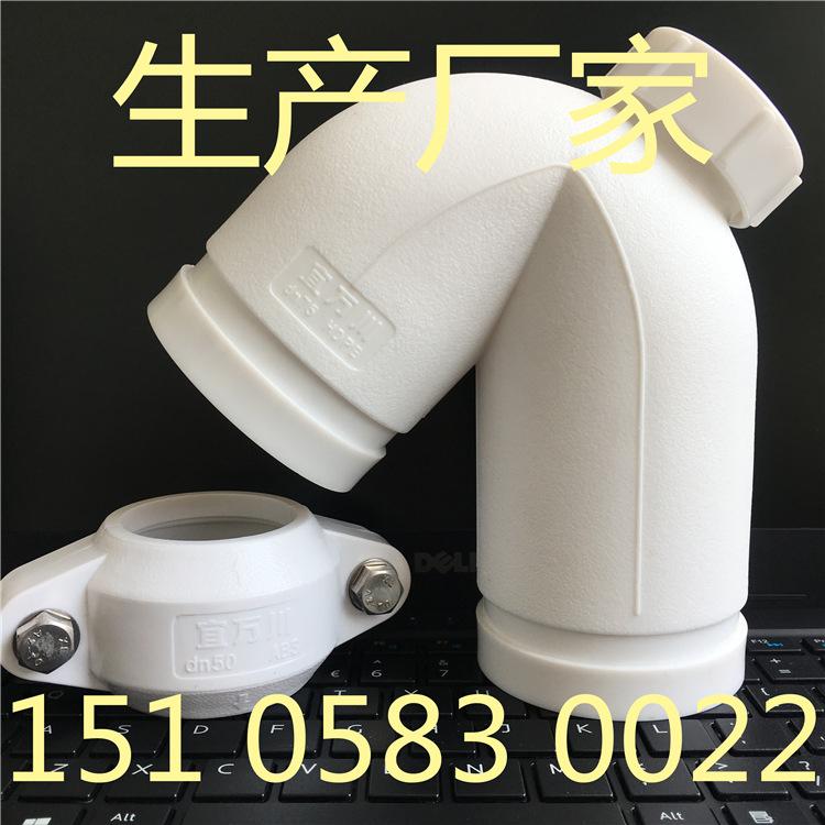 济宁HDPE沟槽式静音排水管,沟槽式排水管,PE排水管,PE沟槽管示例图1