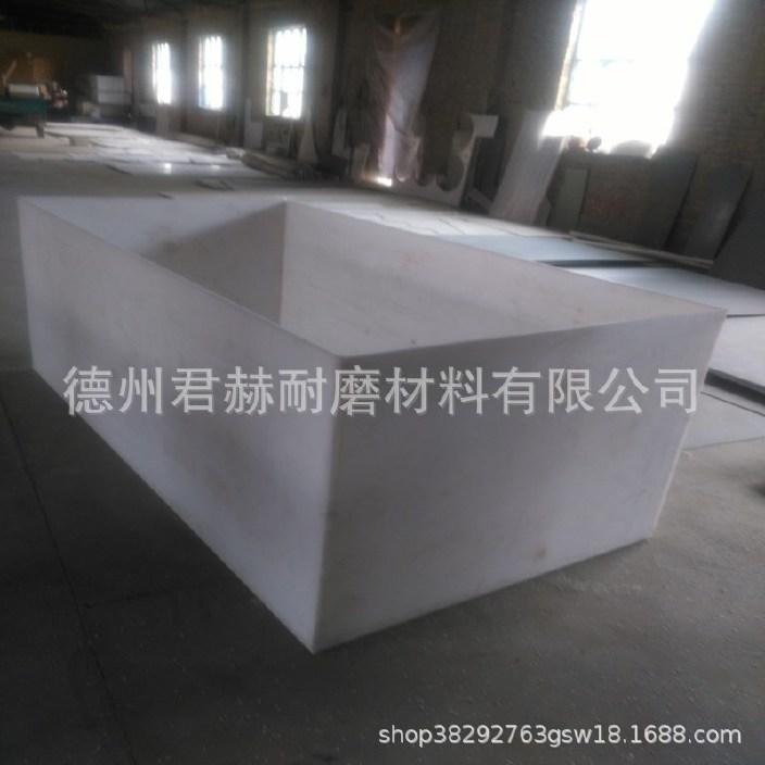 高密度聚乙烯耐磨板 改性PP聚丙烯板材 PP焊接水箱 焊接大型水箱示例图4