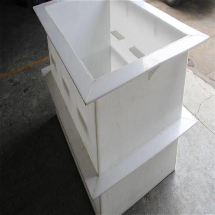加工pp板材 塑料板定做水箱 焊接 冷却循环水箱 酸洗槽批发示例图1