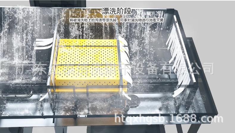 广州塑料筐清洗机 广州塑料筐清洗机厂家 塑料筐清洗机按需定制示例图5