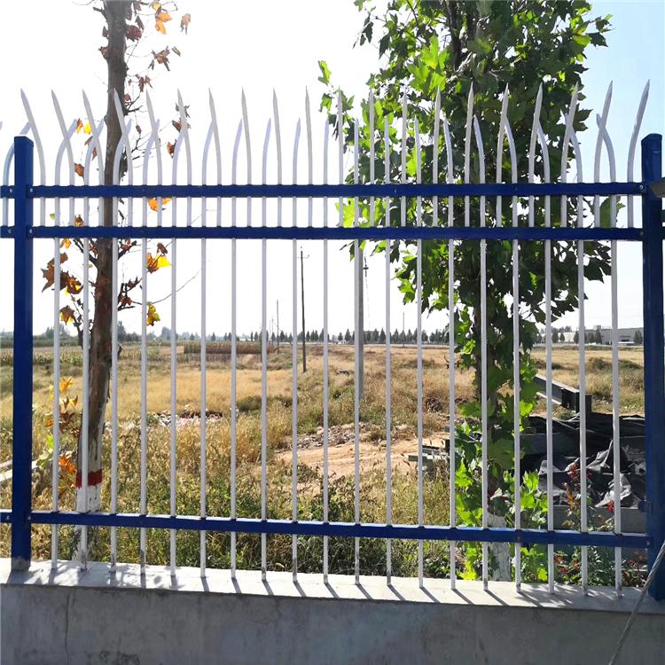 围墙栏杆 厂区护栏 围墙护栏 锌钢护栏