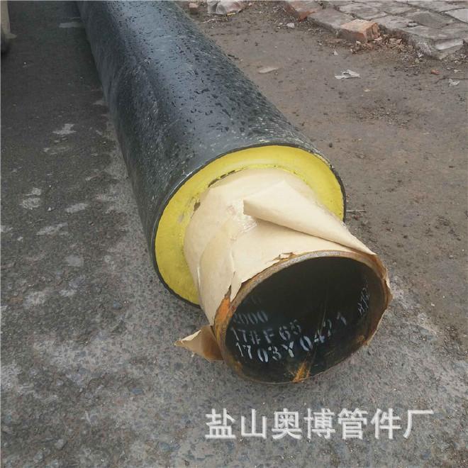 厂家直销 保温钢管 预制直埋保温钢管 加工定做31 聚氨酯保温钢管示例图6