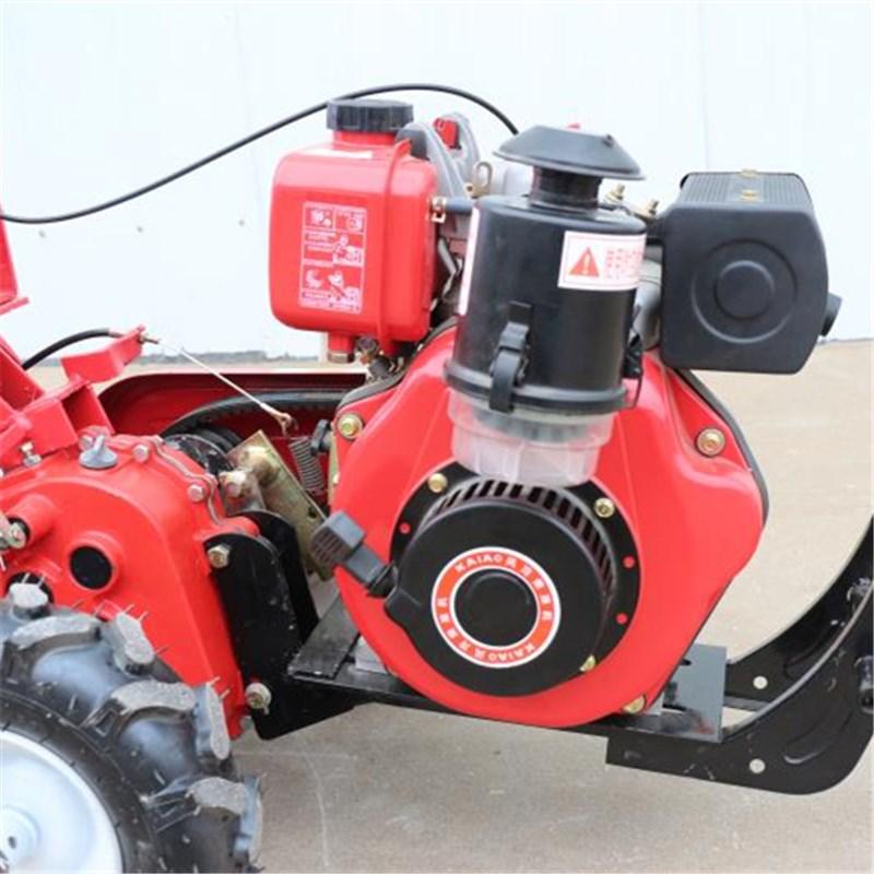 新型后旋式四驱微耕机 大棚翻地松土机 ZC-188型手扶式柴油开沟机志成机械示例图11