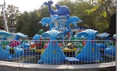 大洋水上游乐儿童激战鲨鱼岛给你不一样的娱乐体验 8臂激战鲨鱼岛项目示例图4