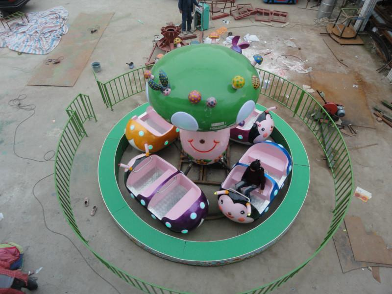 儿童小型游乐设备瓢虫乐园 郑州大洋保质保量室内6车瓢虫乐园项目示例图6