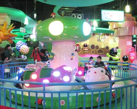 儿童小型游乐设备瓢虫乐园 郑州大洋保质保量室内6车瓢虫乐园项目示例图9