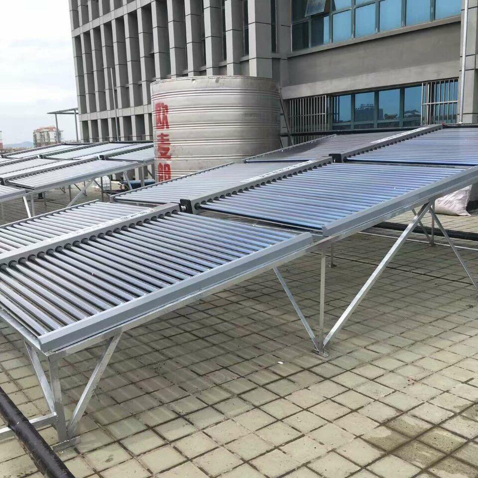 真空管太阳能热水器 平板集热器 太阳能集热系统 太阳能集中供热示例图3