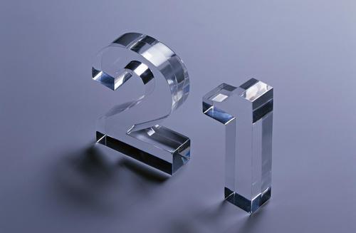水晶字激光切割机 EM1490亚克力切割机示例图1