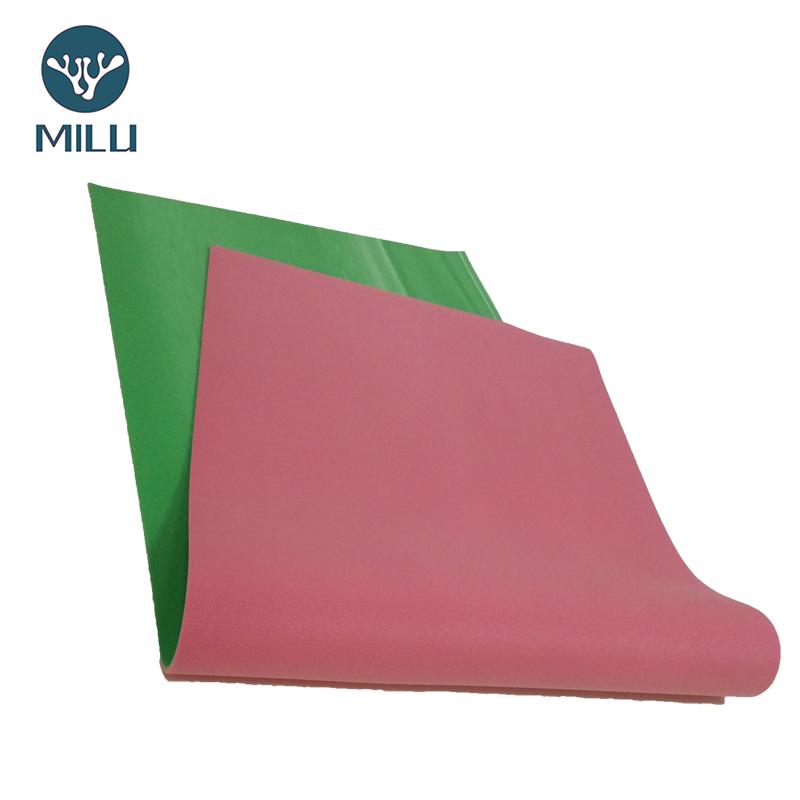杭州朗群家居 瑜伽垫工厂定制 PVC瑜伽垫渐变色示例图3