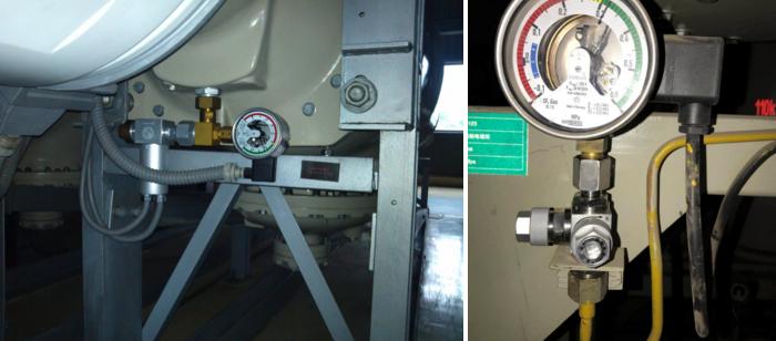 SF6免拆卸校表阀 密度继电器在线校验SF6气体阀门三通装置 密度继电器在线校验SF6气体阀门三通接头示例图6