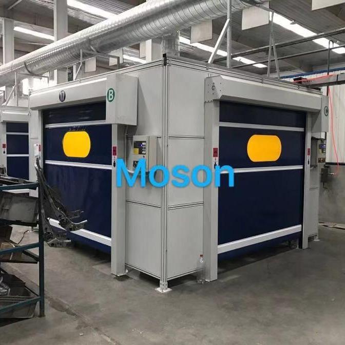 莫特森韦尔 机器人焊接房 焊接防护房 机器人焊接工作站 高品质产品
