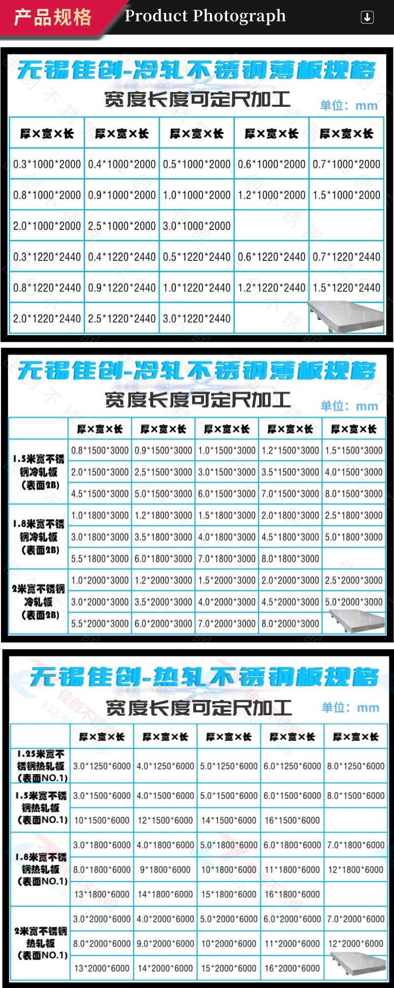 4月20日太鋼304不銹鋼價格跌200元  不銹鋼板304格表示例圖14