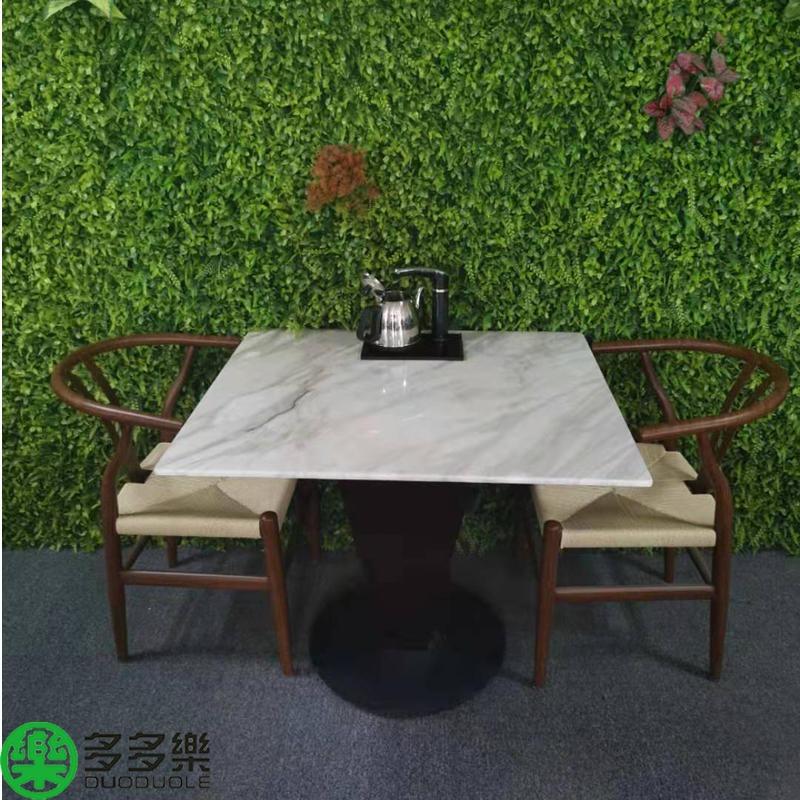 新款帶茶水壺多功能餐桌,智能燒水泡茶大理石餐桌,吃飯喝茶兩用餐桌椅沙發卡座定做