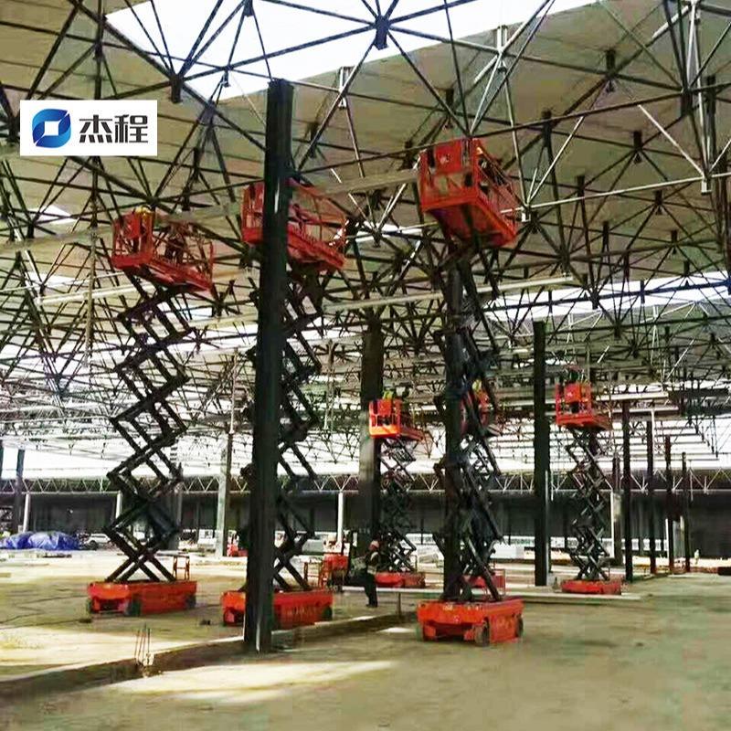 廣州番禺區租賃工程升降車,大型工程用10米電動升降車出租,全廣東極速送機