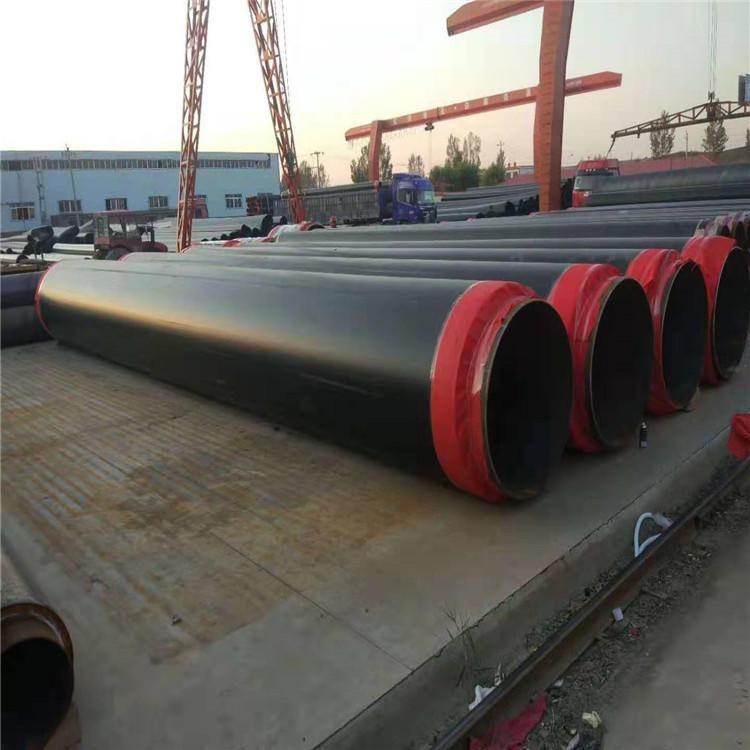 城市供暖預制直埋聚氨酯發泡保溫鋼管 匯都管道生產型號齊全 歡迎來電訂購