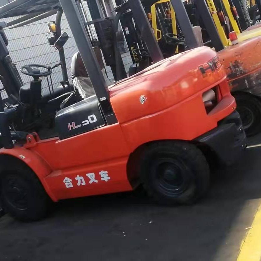 合力3吨平包夹二手叉车进口卡斯卡特夹抱二手电动叉车柴油叉车送货上门