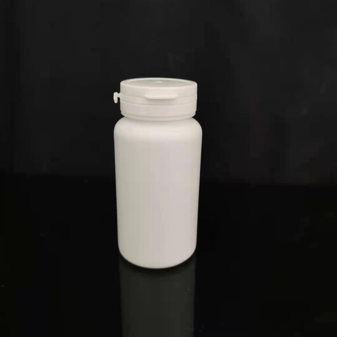 清辰塑料 150cc撕拉蓋瓶 白色粉劑瓶 木糖醇瓶