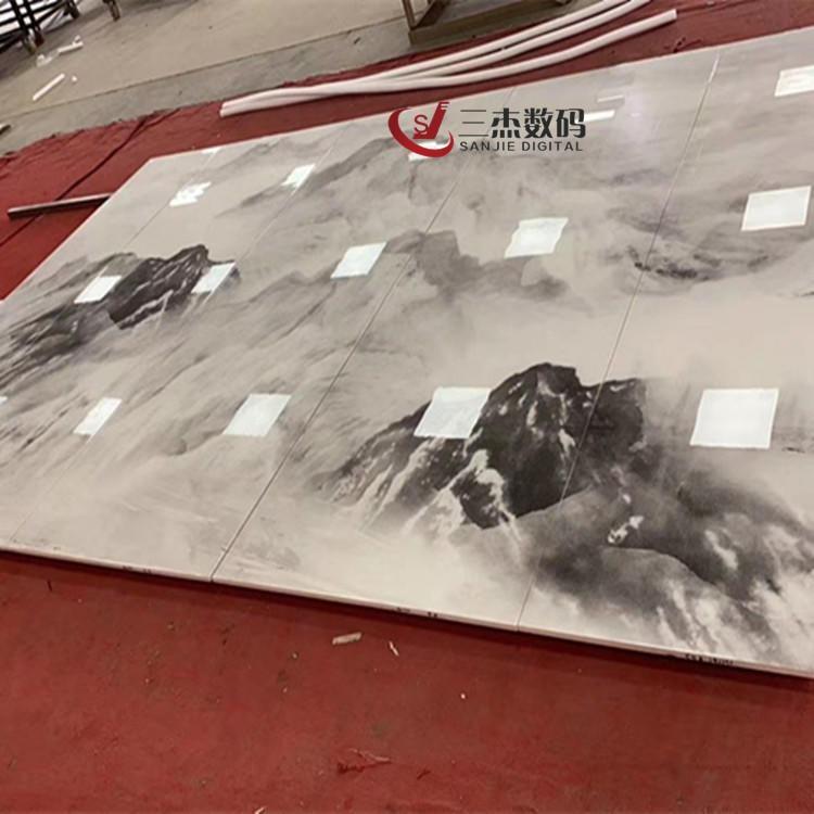 四川崗石uv印刷機 大理石紋理打印機 理光G5G6噴繪機廠