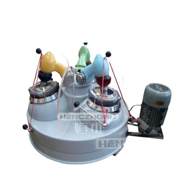 供XPM三头研磨机 实验室智能选矿三头研磨机 玛瑙干式粉碎机