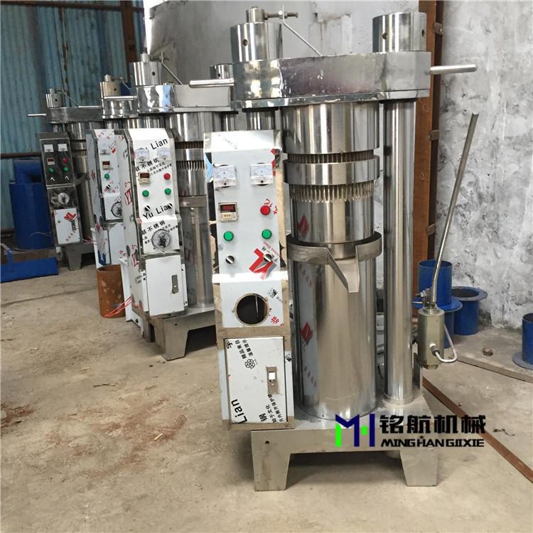 小型全自動液壓榨油機 韓式芝麻香油機 液壓花生榨油機廠家