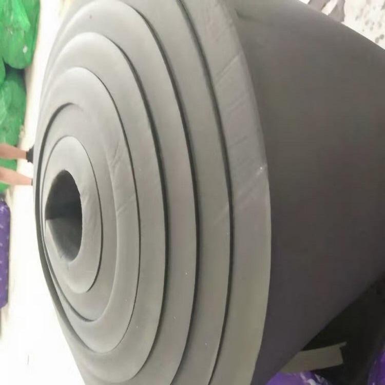 供應華章牌V0級4公分橡塑保溫板生產廠家價格 難燃防潮橡塑海綿板