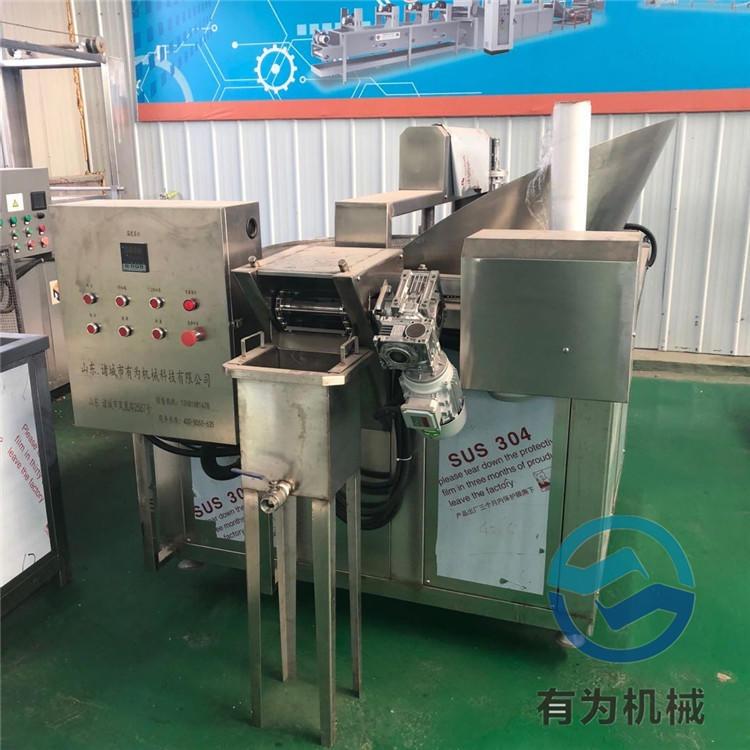 油炸洋蔥酥、油蔥酥、苦蕎片油炸機 有為機械洋蔥酥油炸機專業廠家