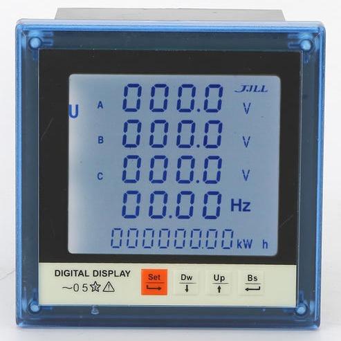 三相多功能仪表 194E-9SY 多功能液晶表 电力设备电工仪表 源头厂家直销