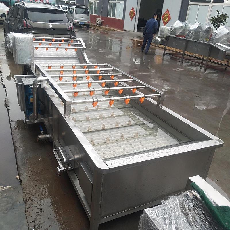 榮昌全自動蔬菜清洗機  氣泡式洗菜機